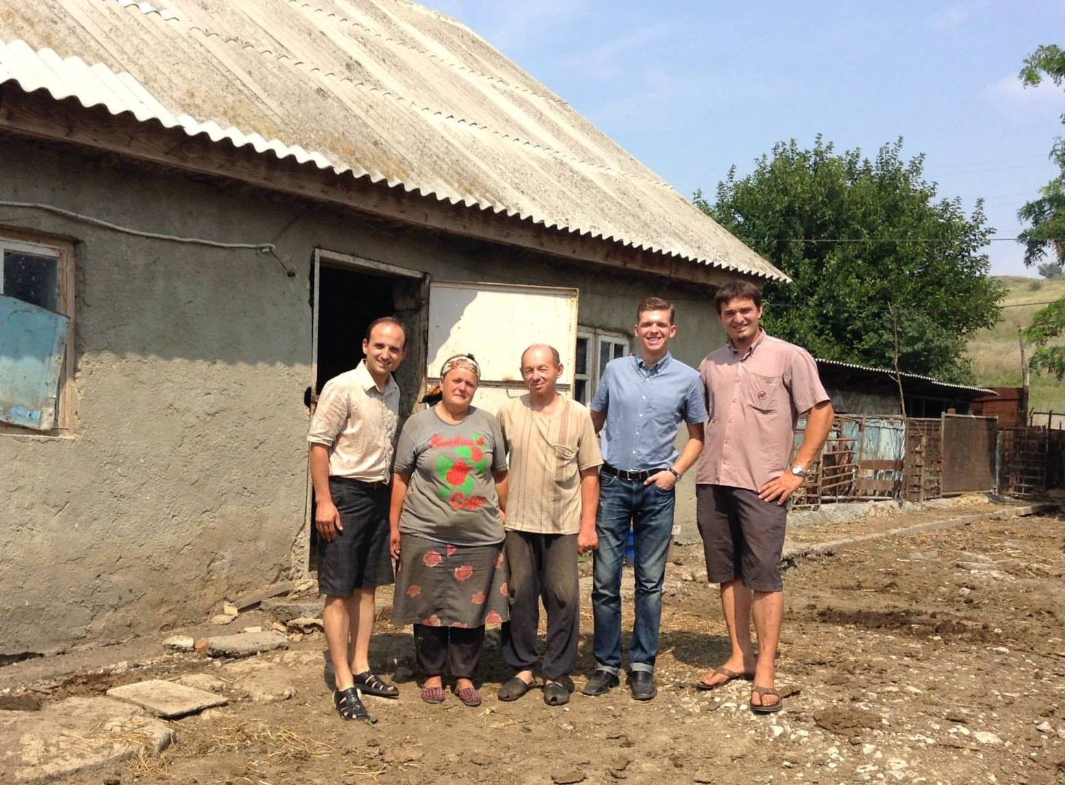 Providing business as mission coaching support to a rural pastor in Laloveni, Moldova.
